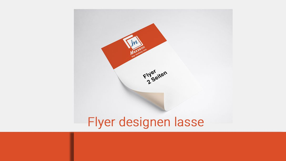 lasse dein Flyer-Folder designen